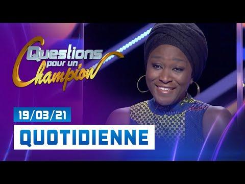 spéciale LANGUE FRANÇAISE du Vendredi 19 mars 2021 - Question pour un champion