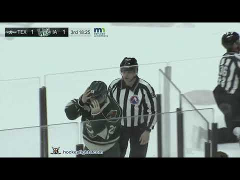 Brandon Duhaime vs. Oula Palve