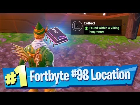 Fortnite Fortbyte #98 Location - Found within a Viking Longhouse