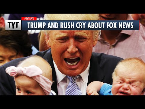 Trump and Rush Limbaugh Cry Together About Fox News