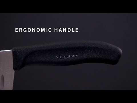 SwissClassic Santoku Knife, fluted edge