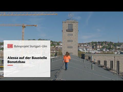 Alessa auf der Baustelle – Bonatzbau