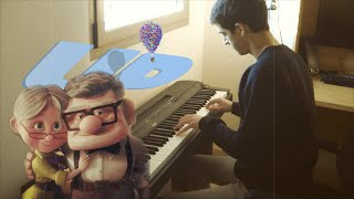 Disney Pixar's UP - Stuff We Did (Piano Cover)
