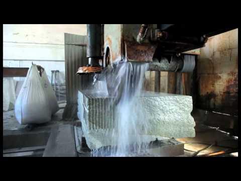 Обработка каменных блоков