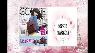 NEW!! KATALOG SOPHIE PARIS OKTOBER 2018