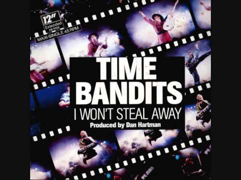 Time Bandits I Won't Steal Away 12 45 RPM 1986 Remasterd By B.v.d.M 2014