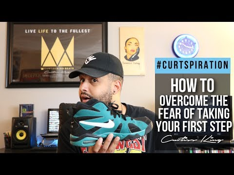 Rappers & Producers - How To Overcome The Fear of Taking Your First Step #Curtspiration