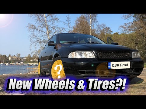 Ronal Wheels & New Tigar Tires For Audi // Project B5 Quattro