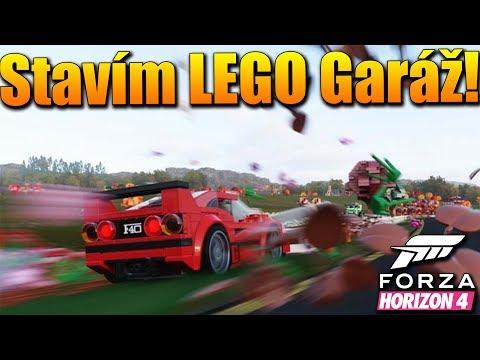 STAVÍM LEGO GARÁŽ!