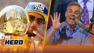 Colin Cowherd on Curry's Warriors ruining NBA Draft, Paul George saving Lakers | NBA | THE HERD