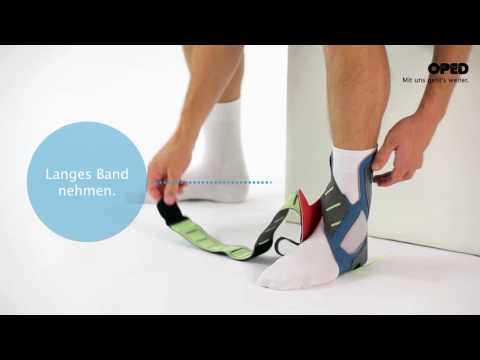 VACOtalus: Anlegevorgang | Fußkonzept
