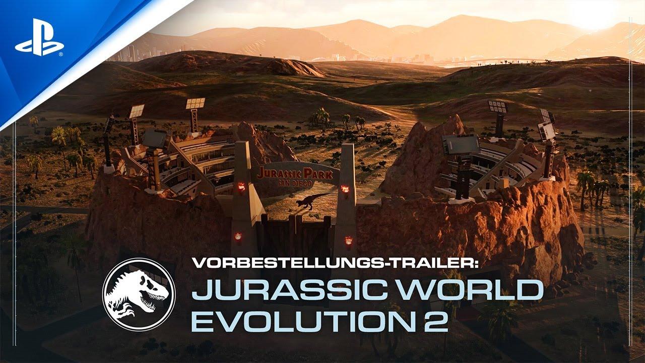 Jurassic World Evolution 2 erscheint am 9. November 2021