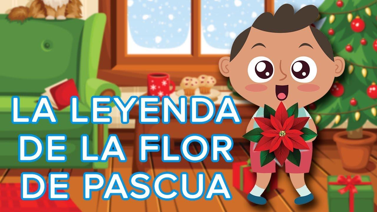 Cuento de la Flor de Nochebuena para niños | Leyenda mexicana de Navidad