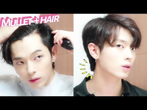 2018ver. 셀프로 울프컷 자르기 (+ 숱치는 법) I cut my hair MULLET  | Joseph 죠셉
