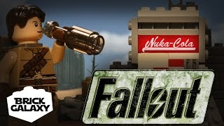 LEGO Fallout Stop motion: Nuka Time