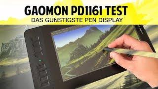 Das günstigste Pen Display: Gaomon PD1161 im Test / Review