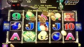 Aristocrat Technologies - Golden Axe Slot Bonus