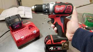 Milwaukee  compact drill / driver  M18 BDD-402XM18 ™ Unboxing and TEST
