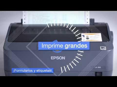 Impresora Epson Matricial LX-350