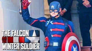 FIRST LOOK EVIL CAPTAIN AMERICA US AGENT John Walker Revealed Marvel Phase 4