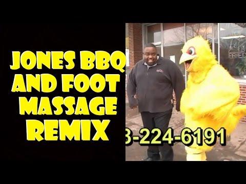 Jones goodass bbq and foot massage