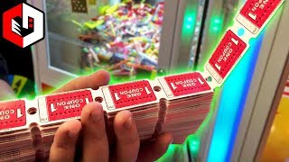LITERALLY WINNING ALL THE TICKETS | BIG JACKPOT WINS at The Arcade