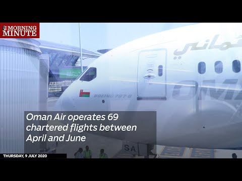 Oman Air operates 69 chartered flights between April and June