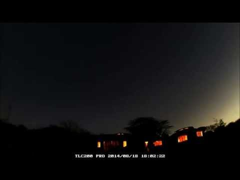 Star Rise Time Lapse