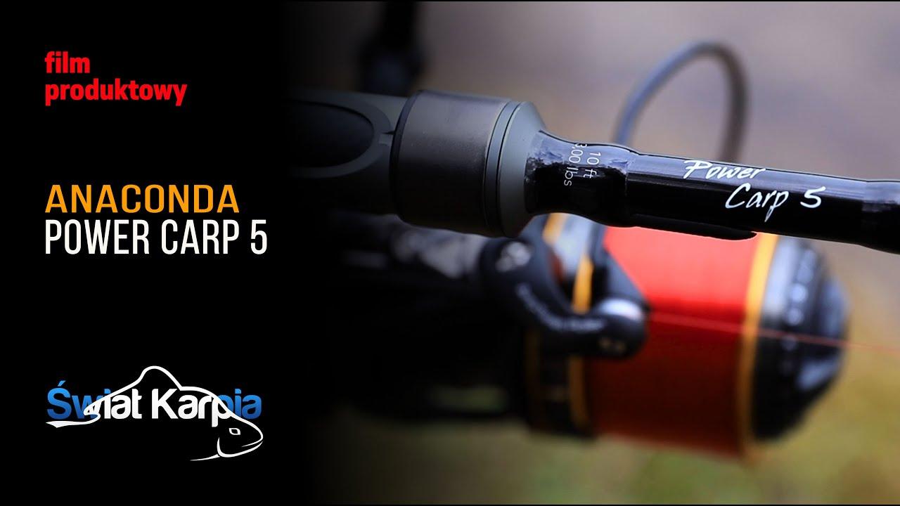 Wędzisko Anaconda Power Carp 5 - nowość 2020