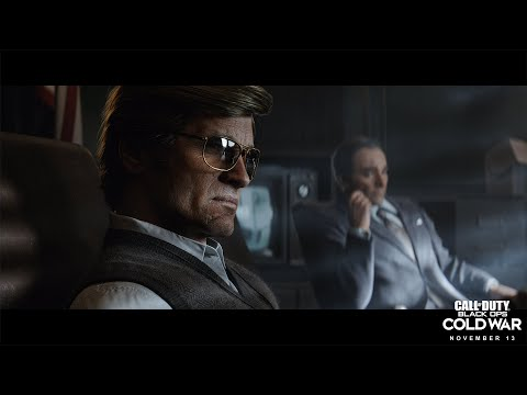 Cinématique briefing de l'agent Persée de Call of Duty: Black Ops Cold War