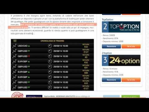 Informazioni sul trading on line