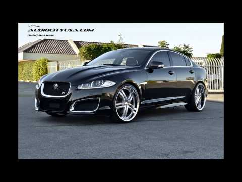 "Jaguar XFR 2012 Supercharged on 22"" XIX X15 Silver wheels"