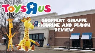 "Toys ""R"" Us Geoffrey Giraffe Figurine and Plush Review"