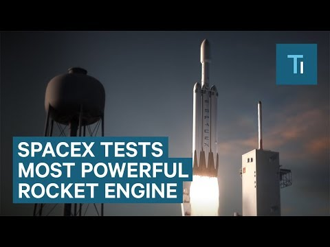 Watch SpaceX test its most powerful rocket engine yet
