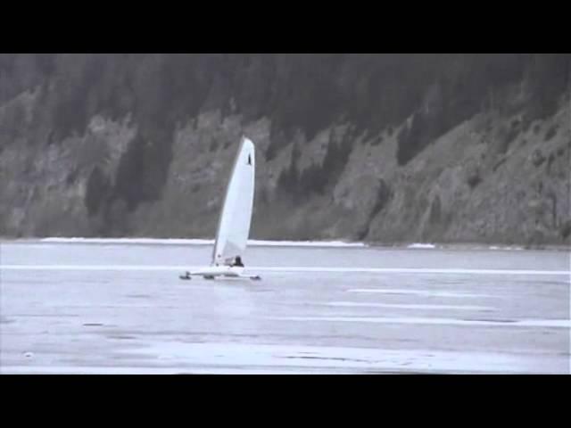 Glider sur glace