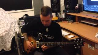 Video Rooms Of Silence - Hope Remains (guitar solo)