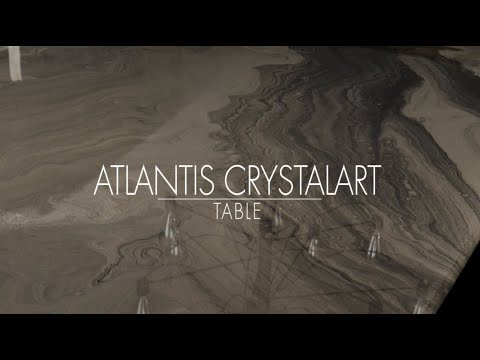 Atlantis CrystalArt table.