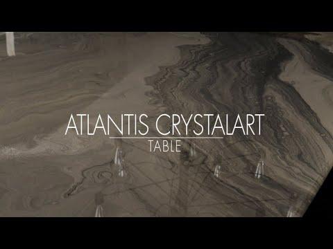 Atlantis CrystalArt table.