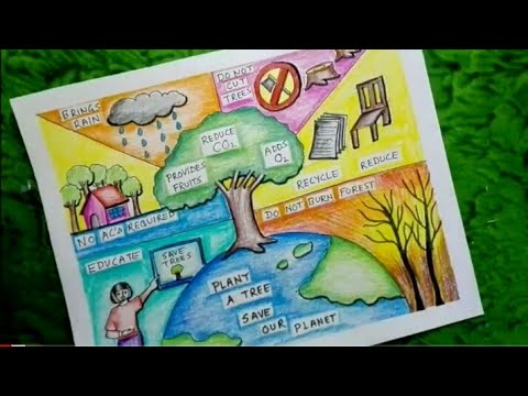 save trees drawing save trees poster save trees save earth save planet