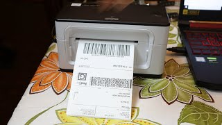 Munbyn Thermal Label Printer and Barcode Scanner