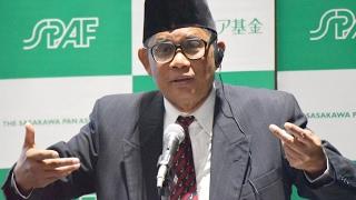 アジアオピニオンリーダー講演会 「イスラム社会における社会貢献のかたち ―インドネシア発ドンペットドウアファの挑戦―」