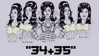 Ariana Grande - 34+35 (Remix) ft. Raini Rodriguez, Doja Cat, Nicki Minaj, Megan Thee Stallion