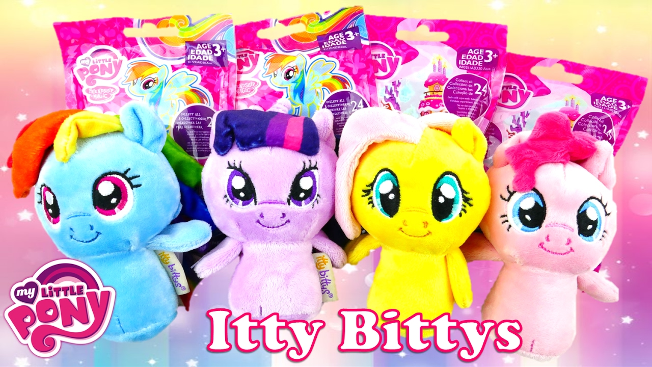My Little Pony Itty Bittys Collection and Blind Bag Surprises | Evies Toy House