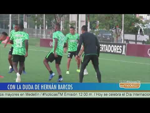 Hernan Barcos sigue en duda para el compromiso contra Libertad [Noticias] - Telemedellin