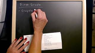 ASMR Request | Writing On Chalkboard / Erasing (Inaudible Whisper)