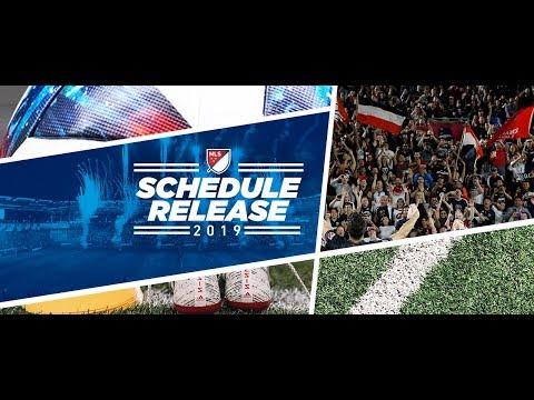 MLS 2019 Schedule Revealed