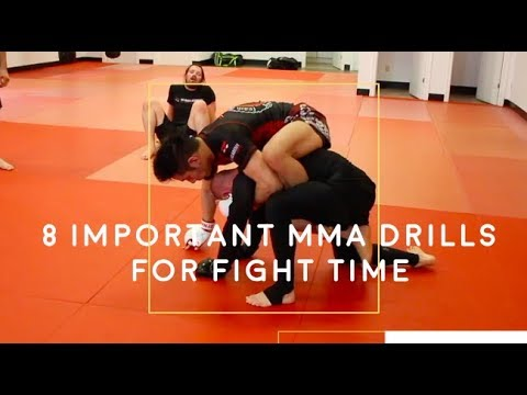 8 Best MMA Drills To Prepare For A Fight - YouTube