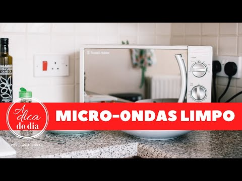 Limpe Seu Micro-ondas em 5 Minutos Com Estas Dicas Naturais!