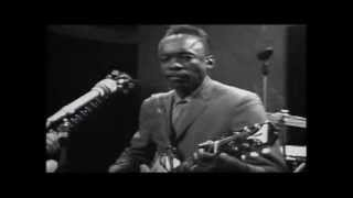 JOHN LEE HOOKER.  Boom Boom.  Live 1960's Television Appearance..  Blues Guitar