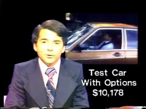 WTVJ / MIAMI - 11/77 - Bob Mayer Goes 'Behind The Wheel Of The 1978 Audi 5000